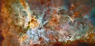 Hubble telescope - Carina Nebula