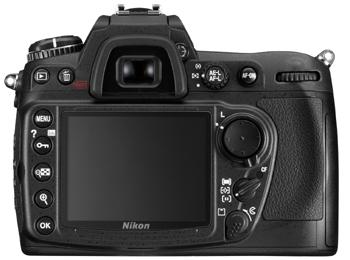 Nikon D300 - rear view