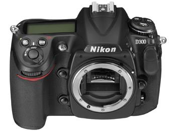 Nikon D300 - Top view